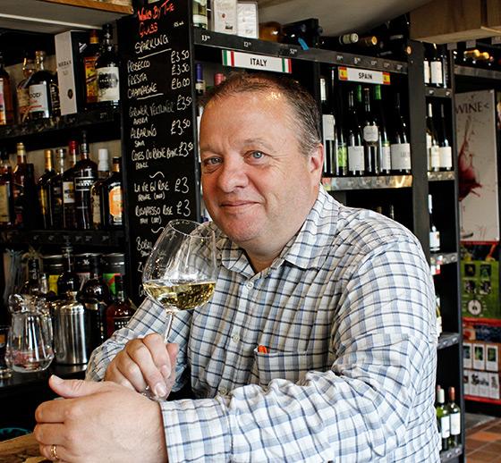 Whalley Wine Shop Matt Monk